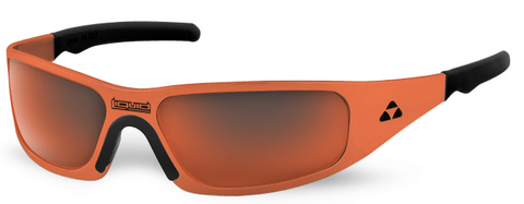 Gasket - orange frame - red mirror polarized - LIQGKORRD2JP