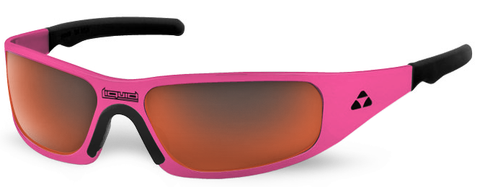 Gasket - pink frame - red mirror polarized - LIQGKPCRD2JP