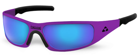 Gasket - purple frame - blue mirror polarized - LIQGKPUBL2JP