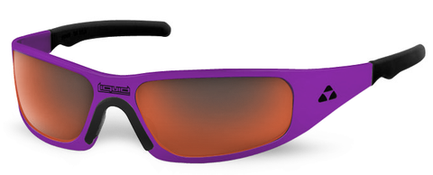 Gasket - purple frame - red mirror polarized - LIQGKPURD2JP