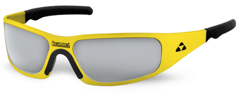 Gasket - yellow frame - flash mirror polarized - LIQGKYEMR2JP