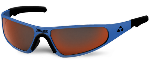 Player - blue frame - red mirror polarized - LIQPLBLRD2JP