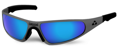 Player - gunmetal frame - blue mirror polarized - LIQPLGMBL2JP