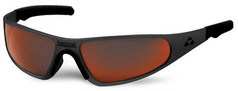 Player - matte black frame - red mirror polarized - LIQPLMBRD2JP