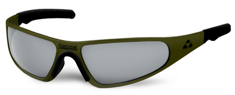 Player - olive drab green frame - flash mirror polarized - LIQPLODMR2JP