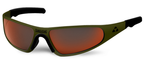Player - olive drab green frame - red mirror polarized - LIQPLODRD2JP