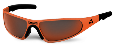Player - orange frame - red mirror polarized - LIQPLORRD2JP