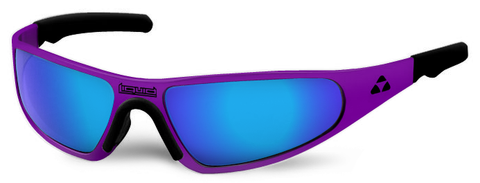 Player - purple frame - blue mirror polarized - LIQPLPUBL2JP