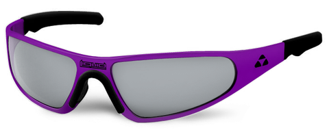 Player - purple frame - flash mirror polarized - LIQPLPUMR2JP