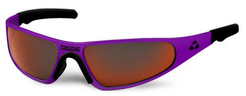 Player - purple frame - red mirror polarized - LIQPLPURD2JP