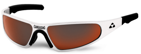 Player - white frame - red mirror polarized - LIQPLWHRD2JP