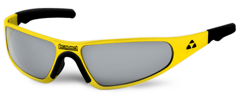 Player - yellow frame - flash mirror polarized - LIQPLYEMR2JP