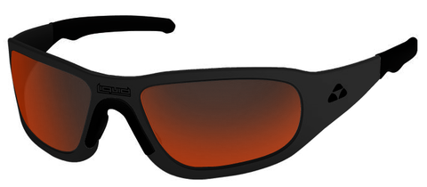 TITAN - MATTE BLACK FRAME - RED MIRROR POLARIZED - LIQTIMBRD2JP