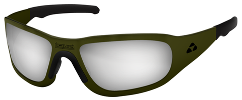 TITAN - OLIVE DRAB GREEN FRAME - FLASH MIRROR POLARIZED - LIQTIODMR2JP
