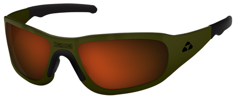 TITAN - OLIVE DRAB GREEN FRAME - RED MIRROR POLARIZED - LIQTIODRD2JP