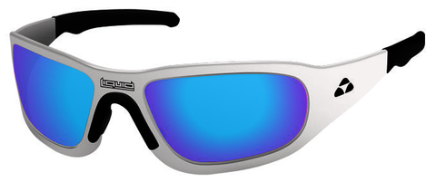TITAN - WHITE FRAME - BLUE MIRROR POLARIZED - LIQTIWHBL2JP