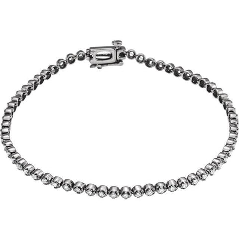 1 CTW Diamond Line Bracelet - Moijey Fine Jewelry and Diamonds