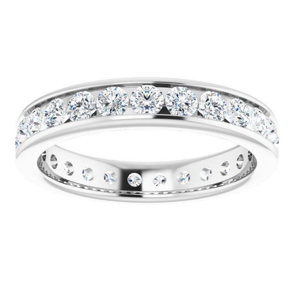 2.5 mm Round Eternity Ring
