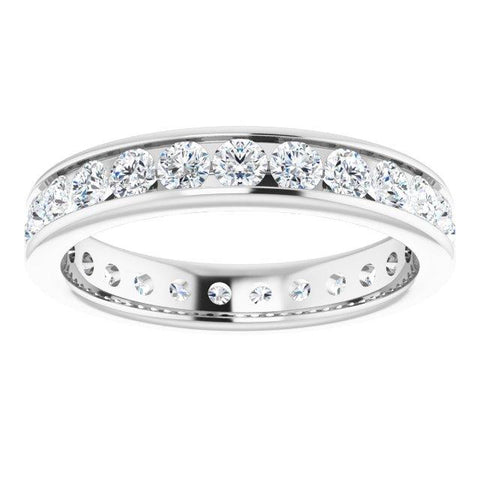 2.5 mm Round Eternity Ring - Moijey Fine Jewelry and Diamonds
