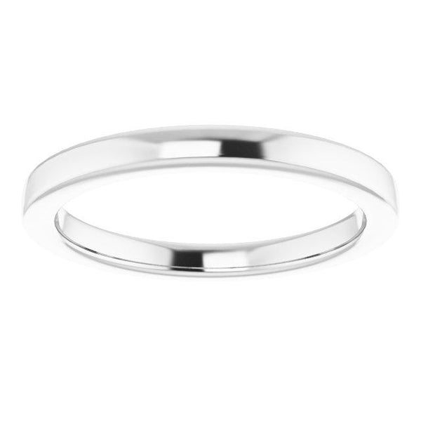 14k 6 mm Rounded Band