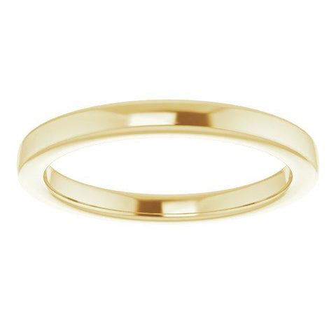 14k 6 mm Rounded Band - Moijey Fine Jewelry and Diamonds