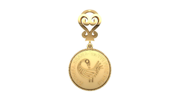 Sankofa Women's Pendant - Moijey Fine Jewelry and Diamonds
