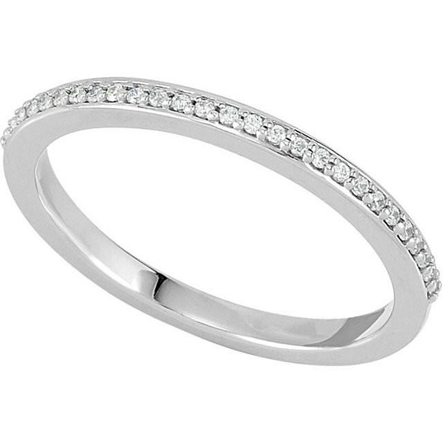 14K Wedding Band for the Floral Cluster Engagement Ring