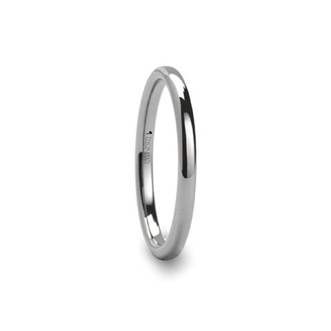 2mm Domed Tungsten Carbide Ring - Moijey Fine Jewelry and Diamonds