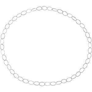 "Sterling Silver Endless 36"" Chain - Moijey Fine Jewelry and Diamonds"