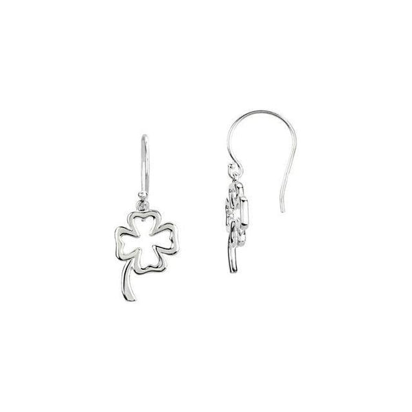 Petite Clover Earrings - Moijey Fine Jewelry and Diamonds