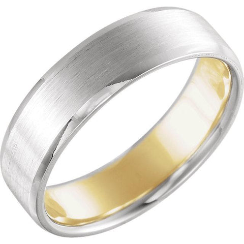 Multi Colored Comfort Fit Band | Comfort Fit Mens Wedding Band | Mens Gold Band