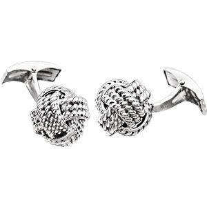 Rope Knot Cuff Links