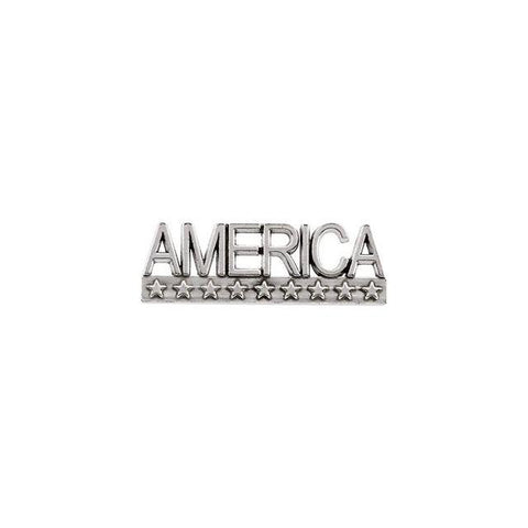 14k Gold AMERICA Lapel Pin