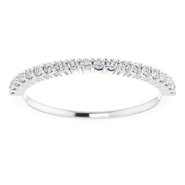 Platinum 1.3 mm Round Anniversary Band