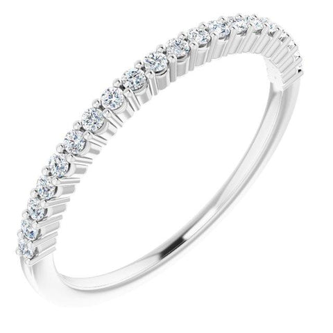 Platinum 1.3 mm Round Anniversary Band - Moijey Fine Jewelry and Diamonds