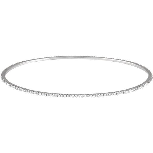Stackable Diamond Bangle Bracelet - Moijey Fine Jewelry and Diamonds