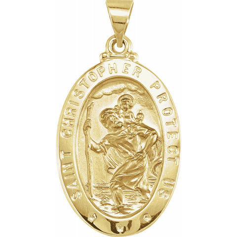 24 K. Gold Plated Medal - Moijey Fine Jewelry and Diamonds