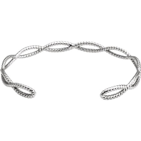 Rope Cuff Bracelet - Moijey Fine Jewelry and Diamonds