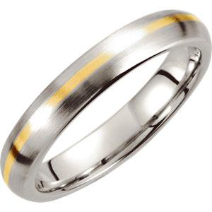 cobalt band | cobalt yellow domed band | yellow domed cobalt band