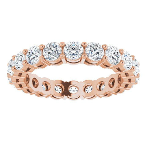 3.2mm Round Stone eternity Ring - Moijey Fine Jewelry and Diamonds