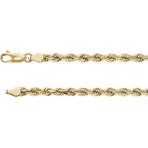 20-Inch Diamond Cut Rope Chain - Moijey Fine Jewelry and Diamonds