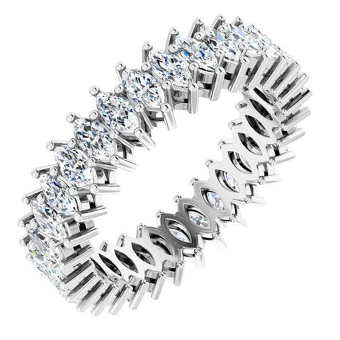 4x2 mm Marquise eternity Band - Moijey Fine Jewelry and Diamonds