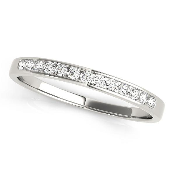 Classic Channel-Set Wedding Band