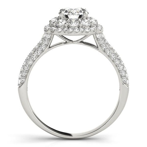 halo round engagement rings | pave round engagement ring | fabulous round engagement ring