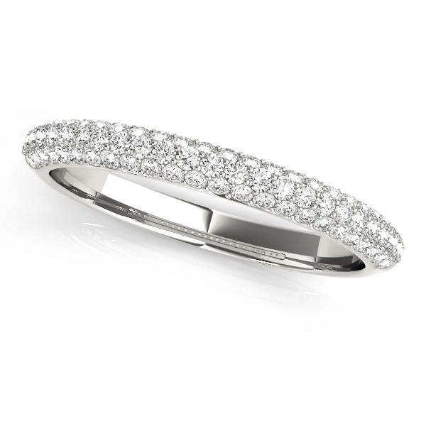 Fabulous Pave Wedding Band