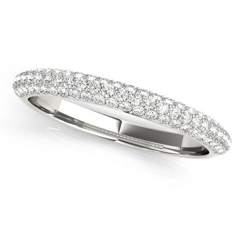 Fabulous Pave Wedding Band - Moijey Fine Jewelry and Diamonds