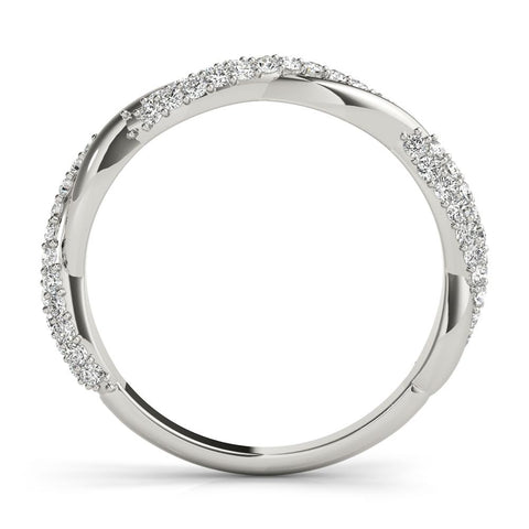 Infinite Pave Wedding Band - Moijey Fine Jewelry and Diamonds