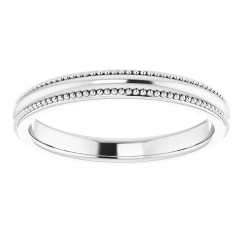 Universal Milgrain Band - Moijey Fine Jewelry and Diamonds