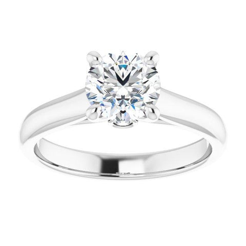 .04 CTW Diamond Semi-set Engagement Ring Setting - Moijey Fine Jewelry and Diamonds