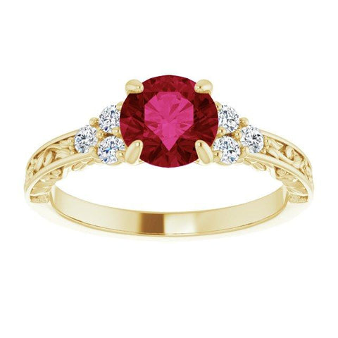 The Dubose Engagement Ring - Moijey Fine Jewelry and Diamonds